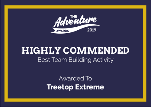 Highly Commended badge for The Adventure Awards 2019